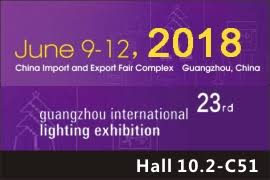 Guangzhou International Lighting Exhibition (GILE) 2018, China @ China Import and Export Fair Complex