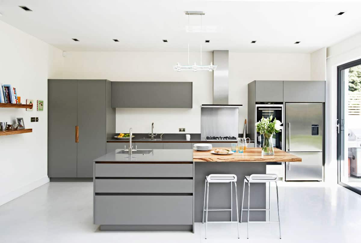 White-Floors-Grey-Cabinets-Wod-Island-Stainless-Steel-Kitchen.jpg