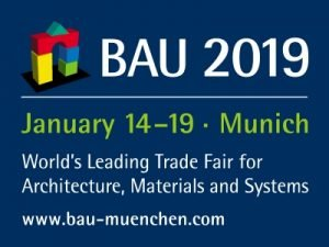 BAU 2019, World's Leading Trade Fair for Architecture, Materials and Systems @ ICM – Internationales Congress Center München,Fairgrounds