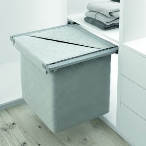 Menage Confort's Pull-out laundry basket by Jyoti Architectural Products
