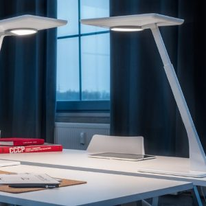 Trilux's Bicult Table Free- Standing Luminaire