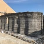 World's first continuous 3D-printed concrete barracks built by US Marines