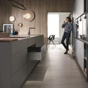 Blum Thin Fronts – Single Fixing Method For Wall Cabinets, Doors and Pull-Outs