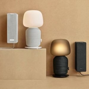 Ikea teams up with Sonos to develop the new Symfonisk-brand lamp speakers and bookshelf speakers