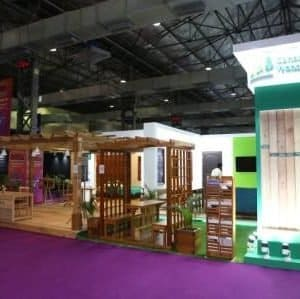 Canadian Wood Displays An Impressive Range of Sustainable Solutions At Index 2019
